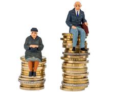 Rentenkluft: 57% weniger Geld für Rentnerinnen als für Rentner